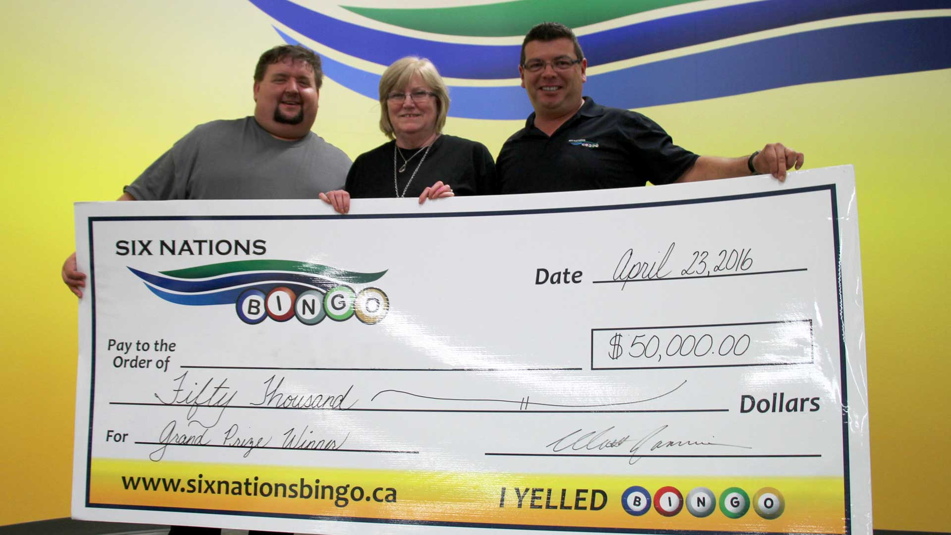 Six Nations Bingo Jackpot Winners