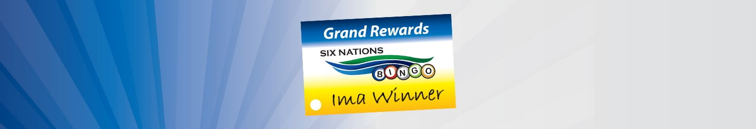 Grand Rewards Six Nations Bingo