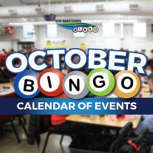 Bingo October events