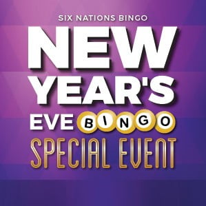 Six Nations New Year's Eve Bingo Special Event