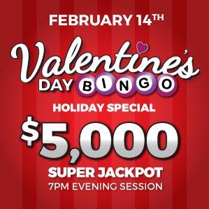 Six Nations Bingo Valentine's Day Bingo