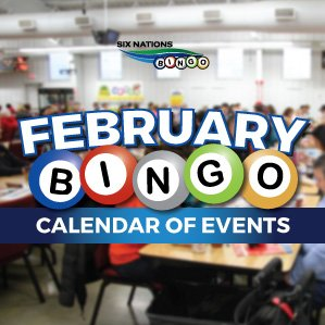 Six Nations Bingo February Bingo Events