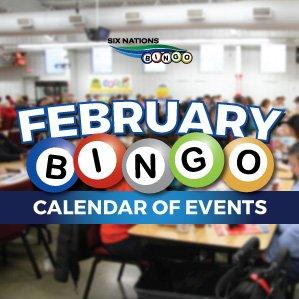 Six Nations Bingo Calendar