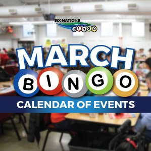 Six Nations Bingo March Bingo Events