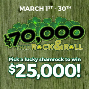 Six Nations Bingo $70000 Shamrock & Roll Promotion