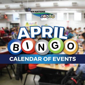 Six Nations Bingo April Bingo Events