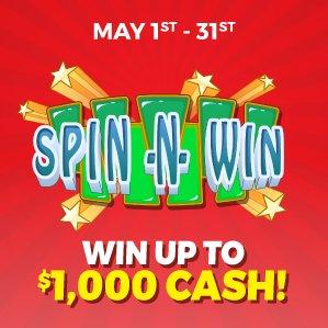 Six Nations Bingo Spin n Win