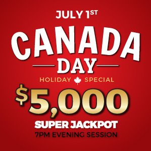 Six Nations Bingo Canada Day Holiday Special