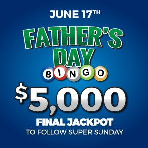 Six Nations Bingo Father's Day Holiday Special