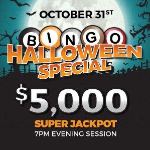 Six Nations Bingo Halloween Holiday Special