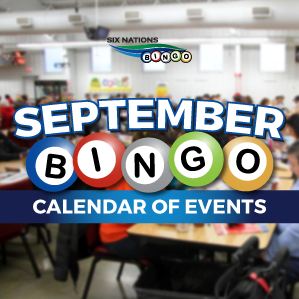 Six Nations Bingo September Calendar of Events