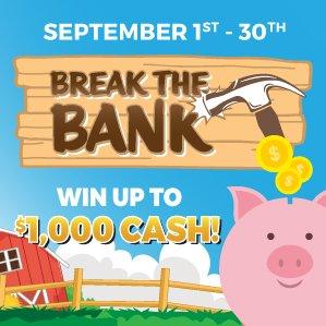 Six Nations Bingo Break the Bank Promotion