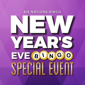 Six Nations Bingo New Years Eve Special Event