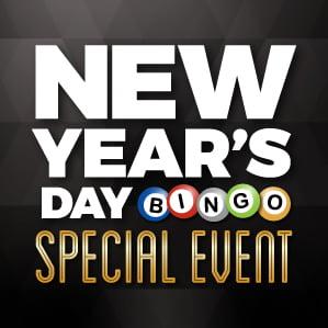 Six Nations Bingo New Years Day Bingo Special Event