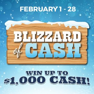Six Nations Bingo Blizzard of Cash Promotion
