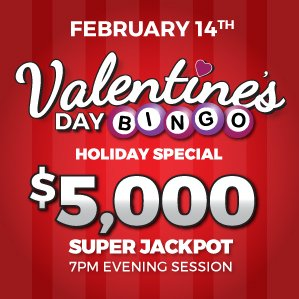 Six Nations Bingo Valentine's Day Holiday Special