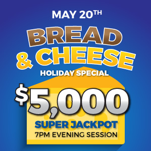 Six Nations Bingo Bread & Cheese Holiday Special
