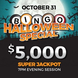 Six Nations Bingo Halloween Holiday Special