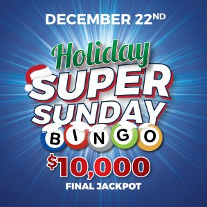 Holiday Super Sunday Bingo